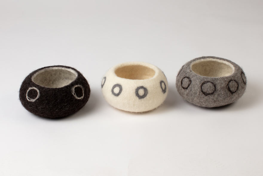 Three Medium Sketch Bowls